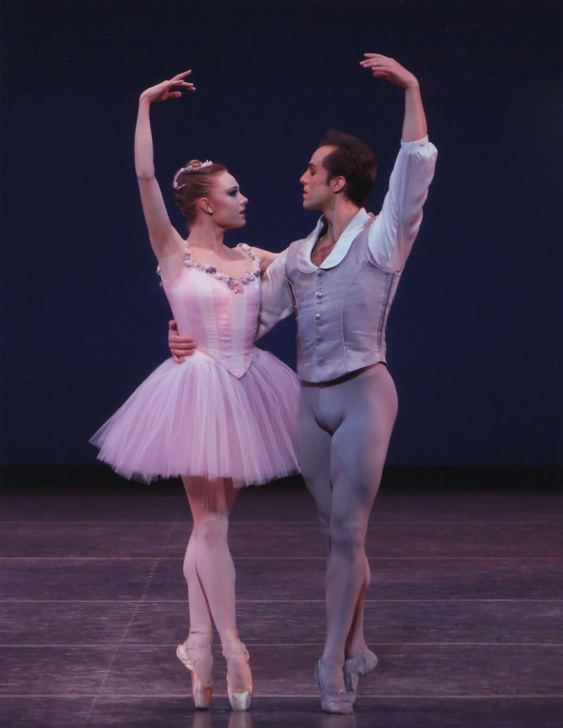 Former city ballet dancer melissa barak s new ballet a simple symphony
