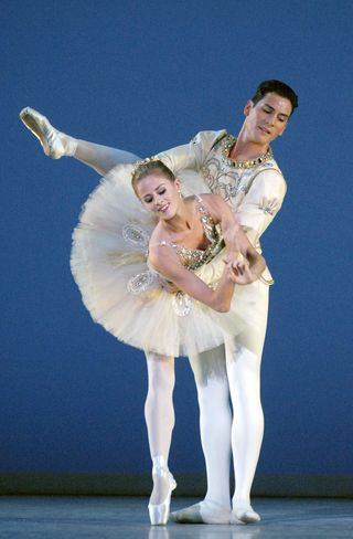 Heather Ogden and Michael Cook in Diamonds photo by Linda Spillers
