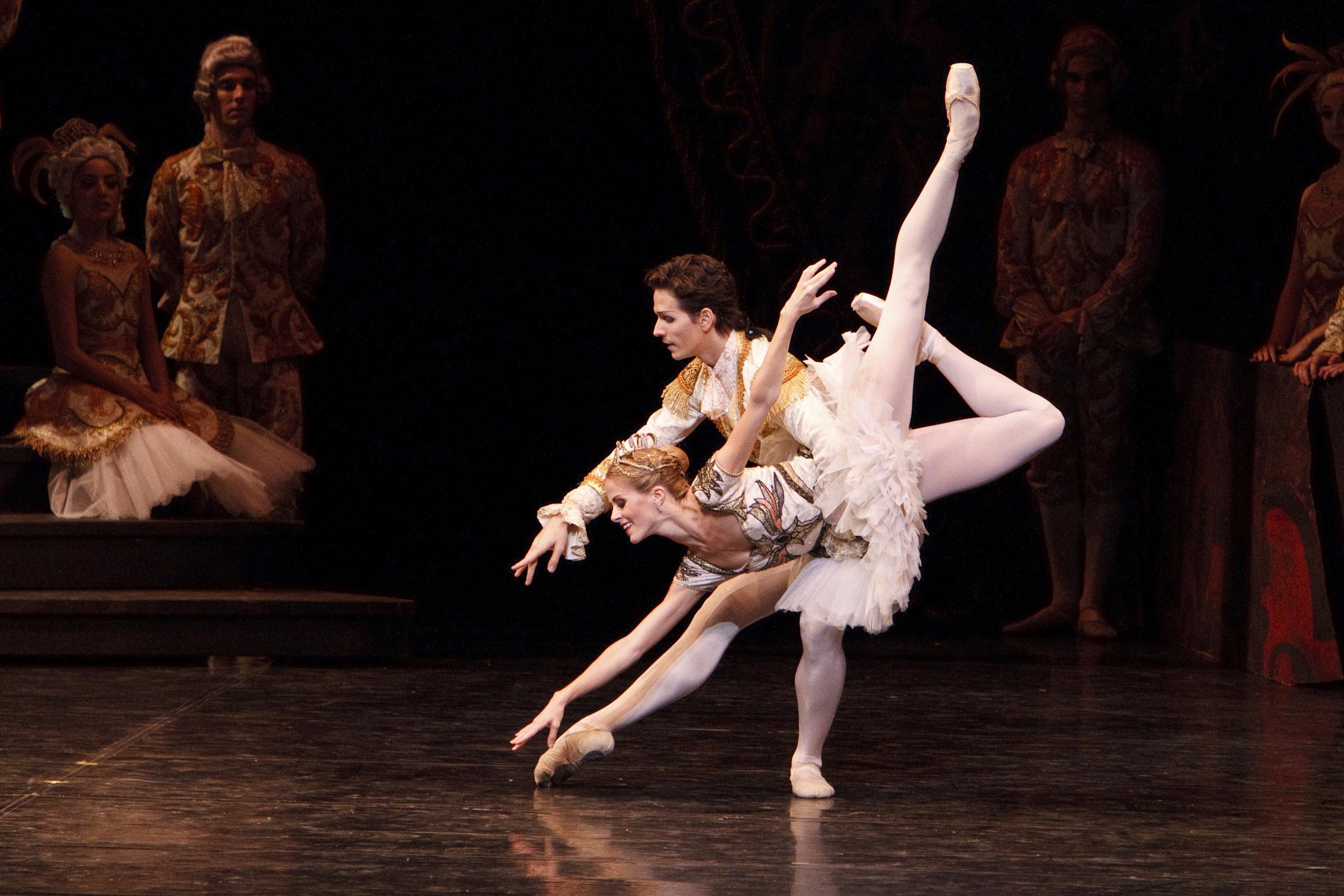 a comparison of ballet comique de la reine and sleeping beauty