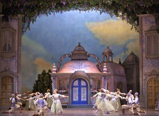 Coppelia Act I Corps