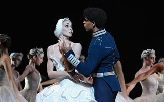 Natalia Osipova and Carlos Acosta in Swan Lake. Photograph Alice Pennefather, courtesy of ROH