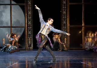 Christopher Marney as Count Lilac in Matthew Bourne's Sleeping Beauty. Photo Credit Simon Annand (2)
