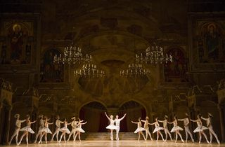 Artists of The Royal Ballet in Raymonda Act III. Photo Tristram Kenton, courtesy ROH