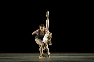 Ricardo Cervera and Sarah Lamb in Infra. Photo Bill Cooper, courtesy of ROH