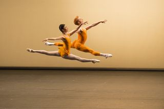 Yuhui Choe and Steven McRae in Concerto. Photo Bill Cooper, courtesy of ROH
