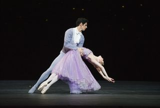 Federico Bonelli and Sarah Lamb in In the Night. Photo Tristram Kenton, courtesy ROH