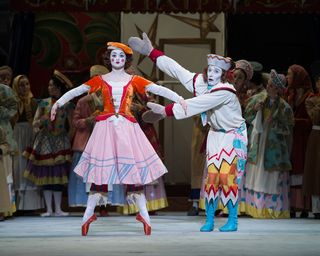 Petrushka ballerina, petrushka