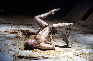 Edward Watson as Gregor Samsa in The Metamorphosis 1 R
