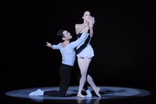 Michael Cook and Natalia Magnicaballi in Duo Concertant photo by Linda Spillers_RT