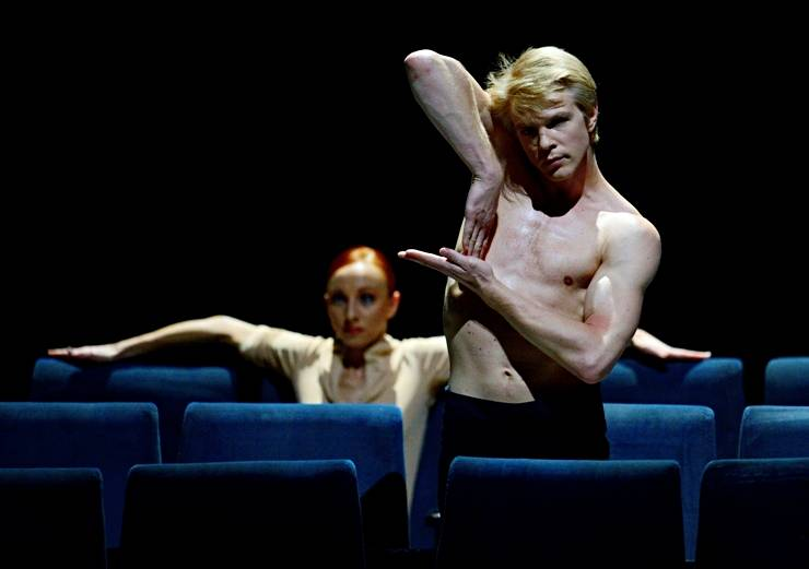 "6. Magdalena Dziegielewska and Marijn Rademaker, ""On Velvet"" by Marco Goecke, Stuttgart Ballet 2013"