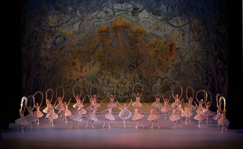 "6. ensemble, ""Jardin Animé"" (""Le Corsaire""), Pyotr Gusev after Marius Petipa, Maryinsky Ballet, © Valentin Baranovsky 2013"