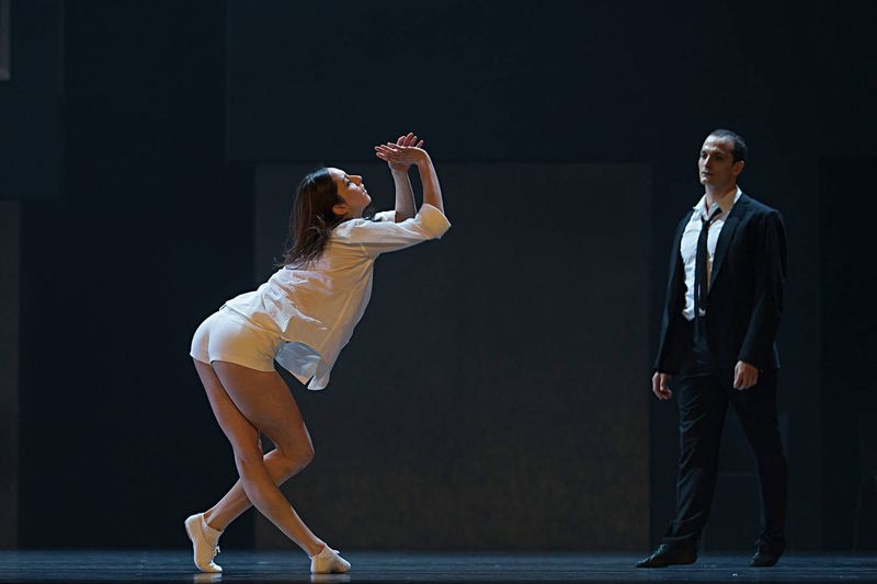 "7. Julia Weiss (Juliet) and Jiří Bubeníček (Romeo), ""Romeo and Juliet"" by Stijn Celis, Semper Opera Ballet 2014"
