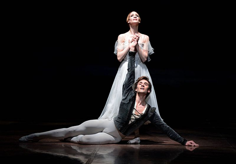 "7. Alicia Amatriain (Giselle) and Friedemann Vogel (Duke Albrecht), ""Giselle"" after Jean Coralli, Jules Perrot and Marius Petipa, Stuttgart Ballet"