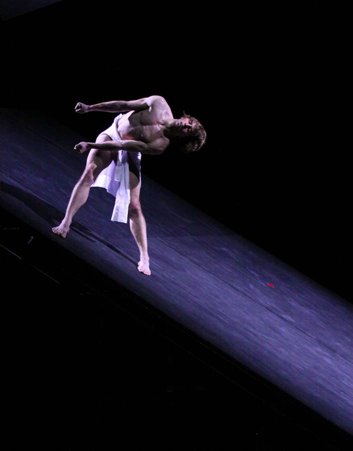 "1. Aleix Martinez, ""Messiah"" by John Neumeier, Hamburg Ballet 2014"