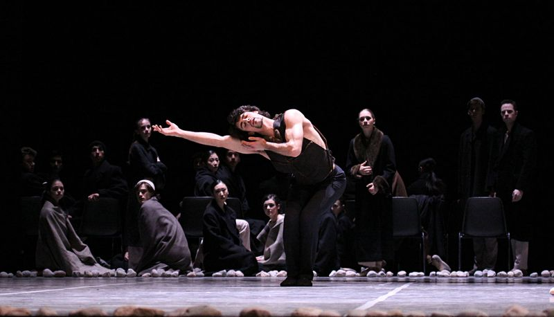 "2. Marc Jubete and ensemble, ""Messiah"" by John Neumeier, Hamburg Ballet 2014"