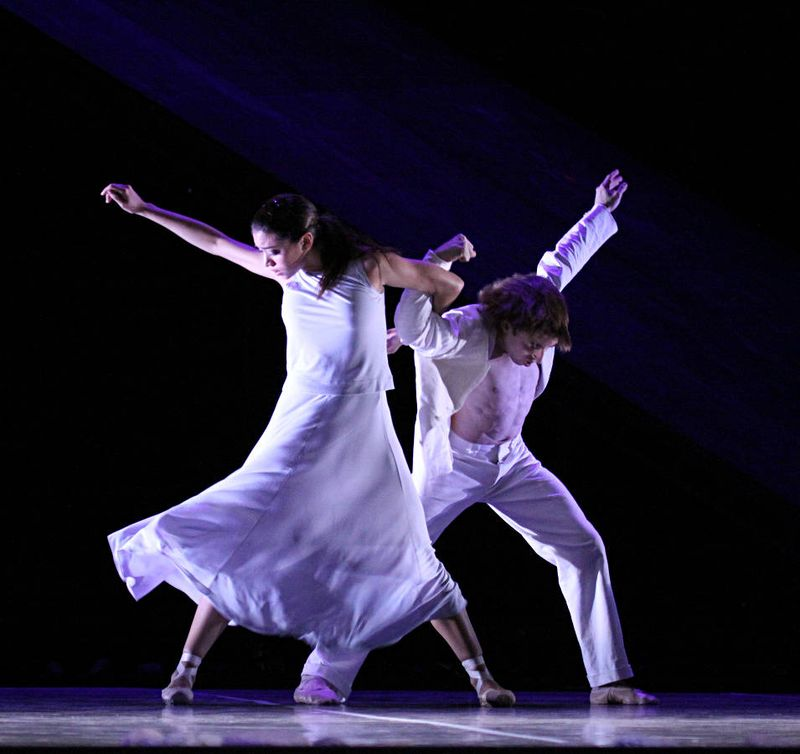 "6. Lucia Rios and Aleix Martinez, ""Messiah"" by John Neumeier, Hamburg Ballet 2014"