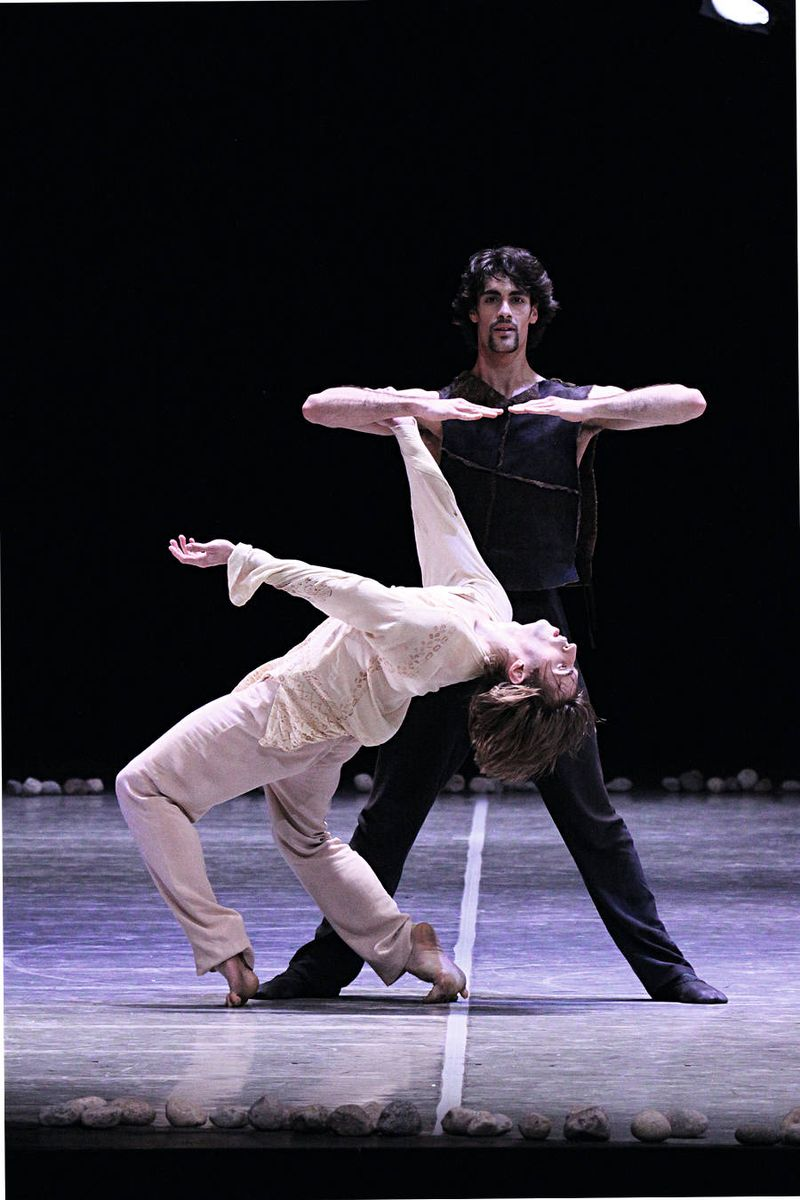"7. Aleix Martinez and Marc Jubete, ""Messiah"" by John Neumeier, Hamburg Ballet 2014"