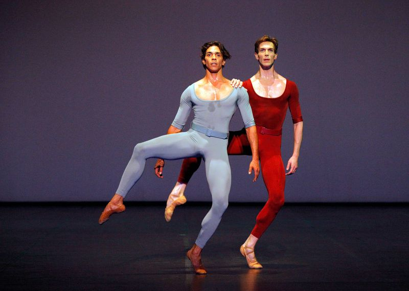 "6. Jason Reilly and Evan McKie, ""Songs of a Wayfarer"" by Maurice Béjart, Stuttgart Ballet 2014"