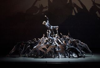 NYCB 2 in JR's Les Bosquets. Credit Paul Kolnik
