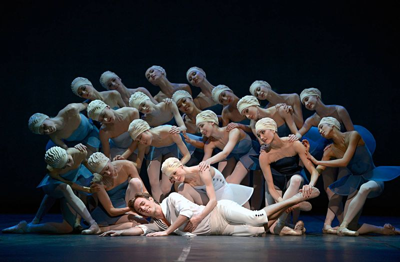 "10. Rainer Krenstetter and ensemble, ""Namouna"" by Alexei Ratmansky, State Ballet Berlin 2014"