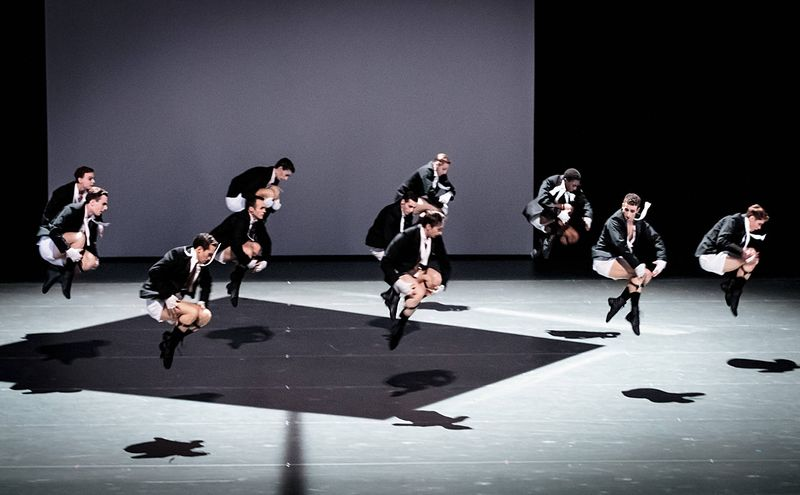 "13. Ensemble, ""The Legend of Joseph"" by Stijn Celis,  Semperopera Ballet 2014"