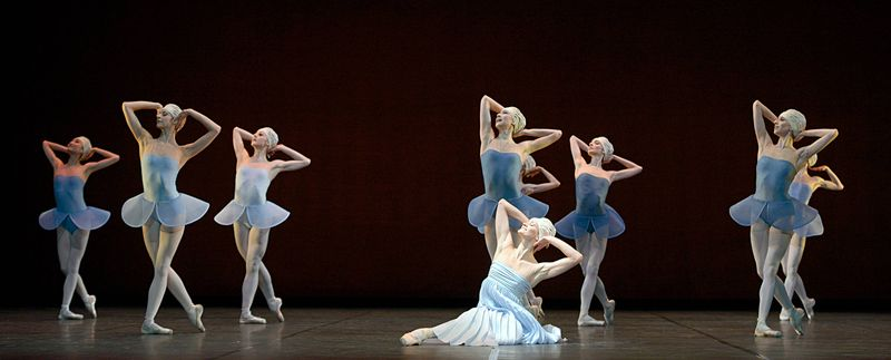 "9. Elena Pris and ensemble, ""Namouna"" by Alexei Ratmansky, State Ballet Berlin 2014"
