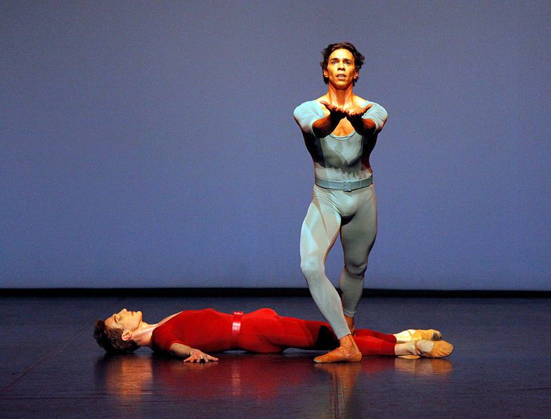 "8. Evan McKie and Jason Reilly, ""Songs of a Wayfarer"" by Maurice Béjart, Stuttgart Ballet 2014"