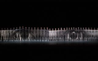 NYCB 3 in JR's Les Bosquets. Credit Paul Kolnik (1)