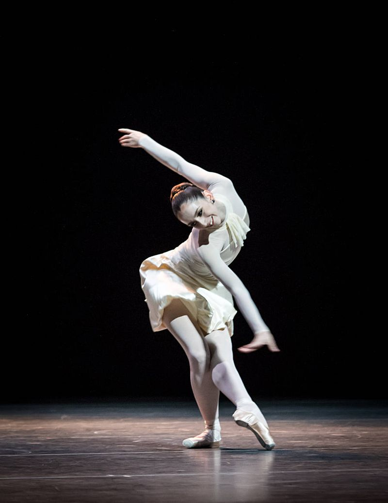 "5.  Julia Weiss, ""Tanzsuite"" by Alexei Ratmansky, Semperopera Ballet 2014"