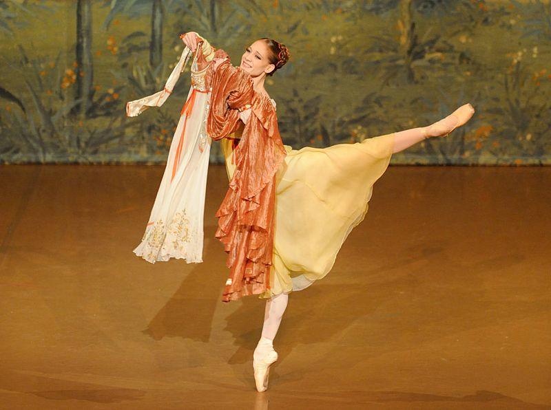 "2. Alicia Amatriain (Juliet), ""Romeo and Juliet"" by John Cranko, Stuttgart Ballet 2014, © Stuttgart Ballet"