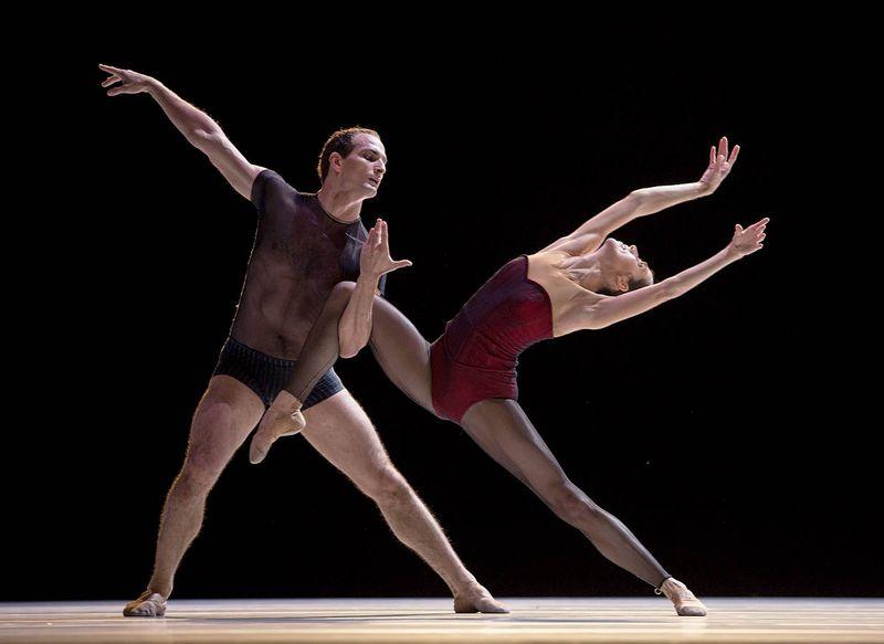 "3. Jiří Bubeníček and Svetlana Gileva, ""Bella Figura"" by Jiří Kylián, Semperopera Ballet 2014"