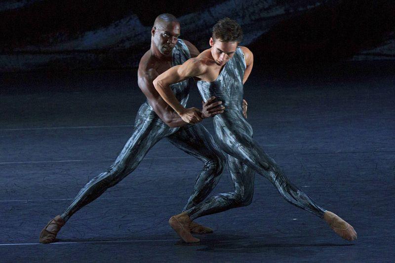 "14. Chidozie Nzerem and Jackson Carroll, ""Johannes Brahms – Symphony No. 2"" by Martin Schläpfer, Ballett am Rhein 2014"