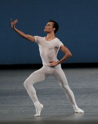 Taylor Stanley in George Balanchine Square Dance