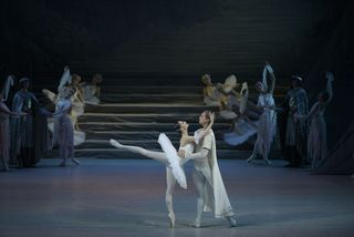 Mariinsky Ballet_Raymonda_Oxana Skorik with Andrei Ermakov_Photo by Valentin Baranovsky