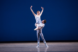 Simone Messmer and Renan Cedeiro in Robbins Other Dances photo credit alexander iziliaev2
