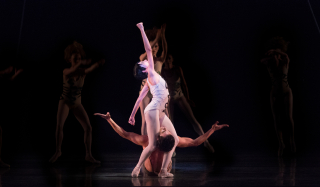 Natalia Arja and Ariel Rose in Robbins  The Cage photo credit Alexander Iziliaev