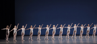 New York City Ballet in George Balanchine's Symphony in Three Movements. Photo credit - Paul Kolnik