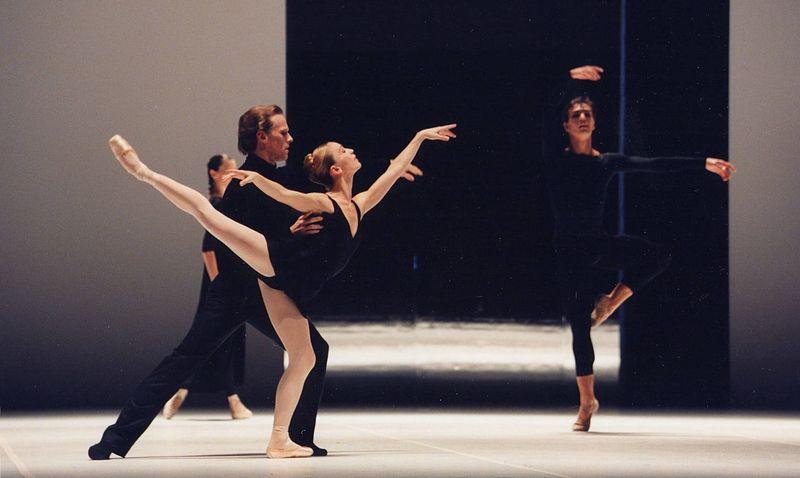 "2. Lloyd Riggins (Gustav von Aschenbach), Silvia Azzoni (Aschenbach's Concepts) and Alexandr Riabko (Aschenbach's Concepts), ""Death in Venice"" by John Neumeier, Hamburg Ballet 2014"