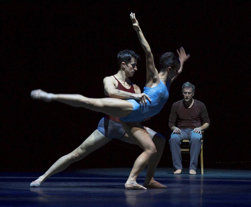 "11. Alexandre Simões, Doris Becker and Martin Schläpfer, ""Alltag"" by Hans van Manen, Ballett am Rhein 2014"