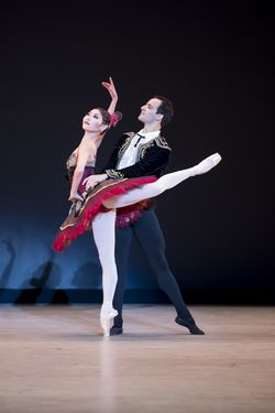 The Washington Ballet_LATIN HEAT, 5 Tangos, Maki Onuki and Rolando Sarabia, photos by media4artists, Theo Kossenas