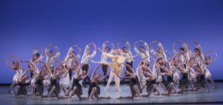 The Suzanne Farrell Ballet 2016-Gounod Symphony choreography by George Balanchine-Photo (c) Paul Kolnik