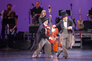 DEMO - Song and Dance _Kate Davis on Bass  Michelle Dorrance  and Bill Irwin_Photo by Teresa Wood