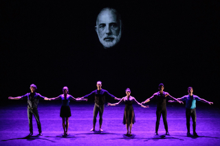 The cast of DEMO - Jerome Robbins_American Dance Genius_Photo by Teresa Wood