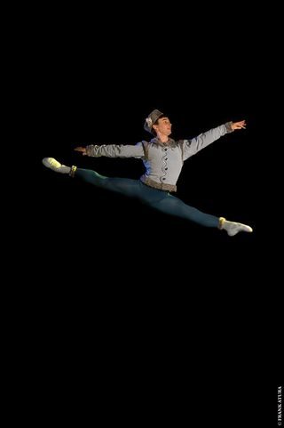 The Sarasota Ballet_Logan Learned as Blue Boy in Sir Frederick Ashton's Les Patineurs - photo by Frank Atura (2012)