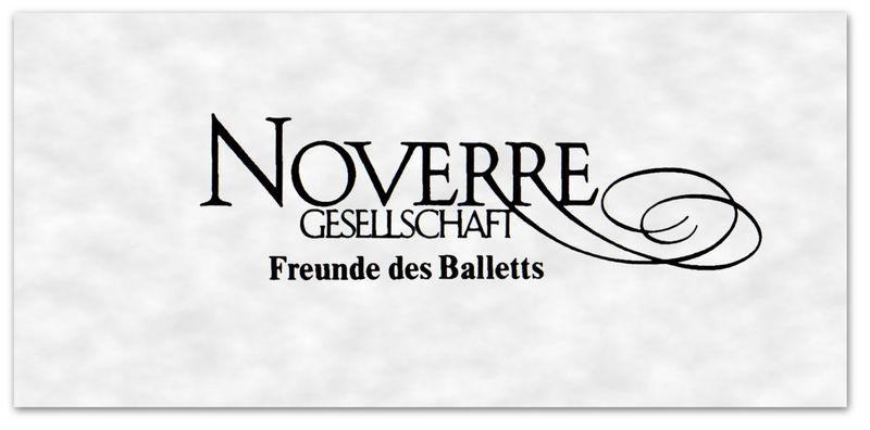 1. Logo of the Noverre Society Stuttgart © Noverre Society 2014