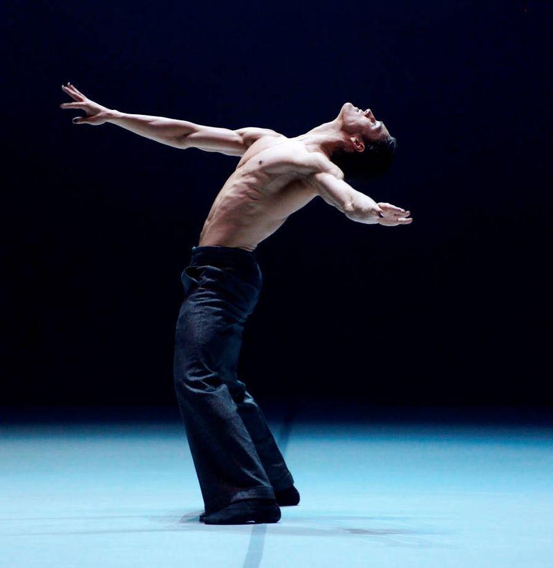 "3. Daniel Camargo, ""Le Chant du Rossignol"" by Marco Goecke, Stuttgart Ballet 2015"