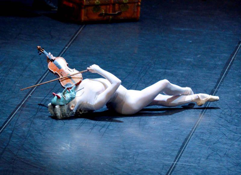 """6.  Ruiqi Yang (The Devil), """"L'Histoire du Soldat"""" by Demis Volpi, Stuttgart Ballet 2015"""