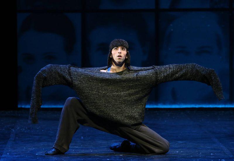 """1. Aleix Martínez, """"Winterreise"""" by John Neumeier, Hamburg Ballet 2015"""