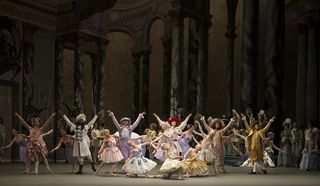 Scene from American Ballet Theatre's The Sleeping Beauty_Photo by Gene Schiavone