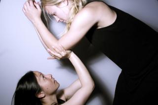 Julie-Ann Gambino.pictiured L to R Yoshie Kateada, Julie-Ann Gambino.photo by Julie-Ann Gambino